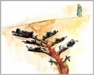 Existen dos opiniones sobre cuales fueron las diez pruebas de Abraham. Según Pirkei de Rabi Eliezer enumera las siguientes: 1. Nimrod intenta asesinar a Abraham y se oculta durante 13 años. 2. Abraham es arrojado al calderón de Ur Kasdim. 3. Abraham debe abandonar su tierra. 4. Hay hambre en la tierra de Canaan. 5. Sara es capturada por el Faraon. 6. La guerra contra los 4 reyes que capturaron a Lot. 7. El pacto de Bein Habetarim (Pacto de las mitades) donde se le mostró a Abraham los 4 exilios de sus descendientes. 8. La mitzva de circuncidarse a si mismo y a su hijo. 9. La orden de expulsar a Ishmael y a su madre. 10. La Akeda, la orden de ofrecer a su hijo como sacrificio. Según Maimonides, el Rambam , enumera solo las mencionadas en la Torá Escrita: 1 Abraham debe abandonar su tierra. 2. Hay hambre en la tierra de Canaan. 3. Sara es capturada por el Faraon. 4. La guerra contra los 4 reyes que capturaron a Lot. 5. El tomar a Hagar como esposa. 6. La mitzva de circuncidarse a si mimo. 7. Sara es llevada al palacio de Avimelej. 8. La expulsión de Hagar. 9. La expulsión de Ishmael. 10. La Akeda.