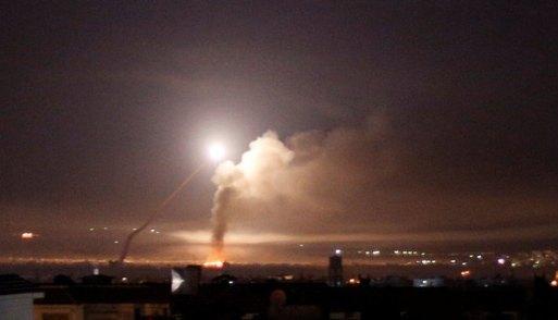 Un misil en Damasco (REUTERS/Omar Sanadiki)